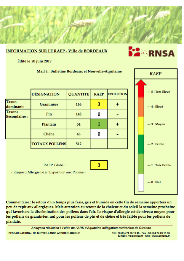 RNSA bulletin bordeaux
